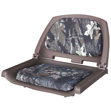 Fold-Down Padded Camo Boat Seat Only
