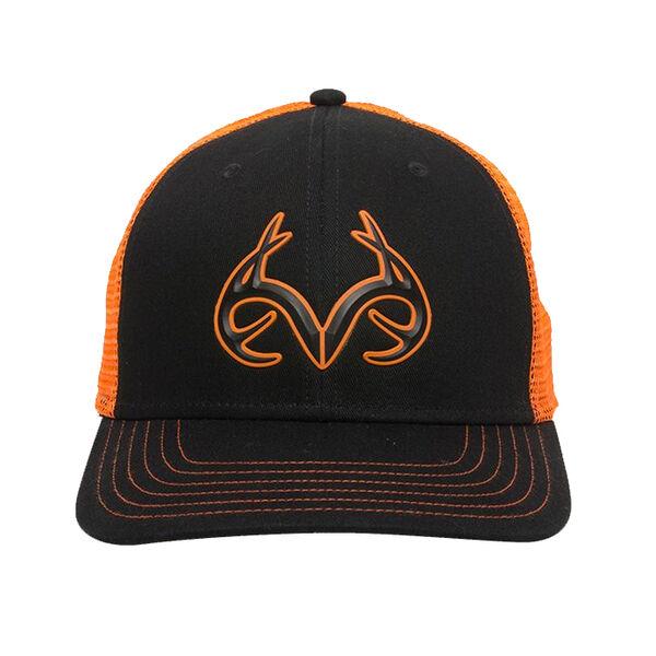 Realtree Men's 3-D Antler Logo Trucker Cap