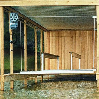 Doozie Boat House 4000-lb. Pontoon Cradle Kit