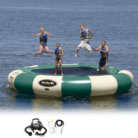 RAVE 20' Aqua Jump 200 Water Trampoline, Northwoods Edition