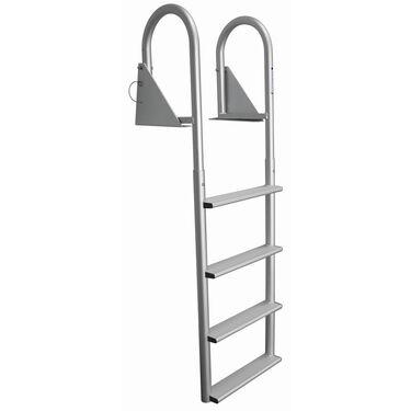 Dockmate Wide Step Flip-Up Dock Ladder, 7-Step