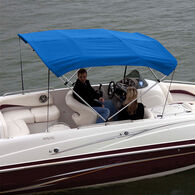 """Shademate Polyester 4-Bow Bimini Top Fabric, 8'L x 54""""H, 61""""-66"""" Wide FABRIC ONLY"""