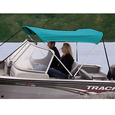 Shademate Sunbrella Stainless 2-Bow Bimini Top 5'6''L x 42''H 47''-53'' Wide