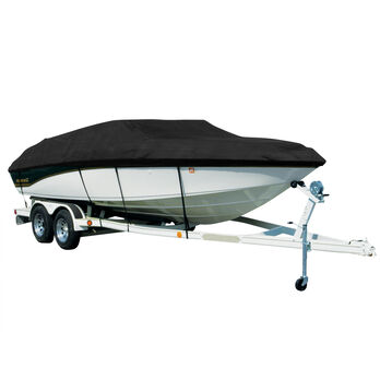 Exact Fit Covermate Sharkskin Boat Cover For BAYLINER CAPRI 205 BR W/STBD LADDER & SKI TOW COVERS EXT INTEGRATED PLATFORM