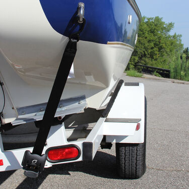 Overton's Retractable Transom Tie-Down System