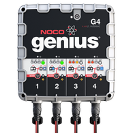 NOCO G4 UltraSafe 4-Bank Smart Battery Charger