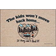 "High Cotton ""The Kids Won't Move Back"" Doormat, 18"" x 27"""