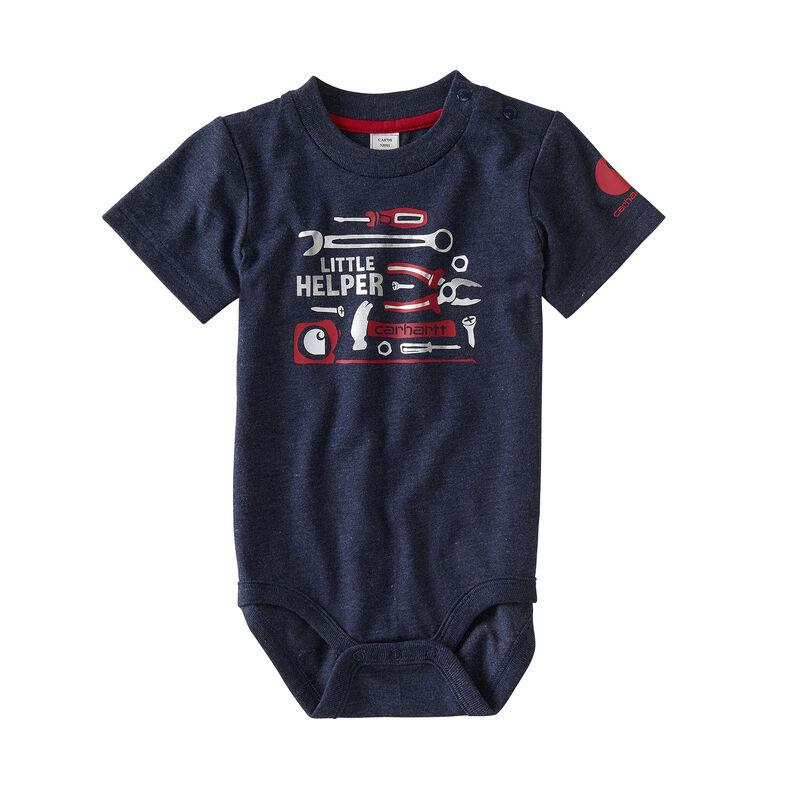 Carhartt Infant Boys' Little Helper Bodysuit image number 1