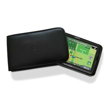 """Leather Sleeve Case for GPS - 7"""""""