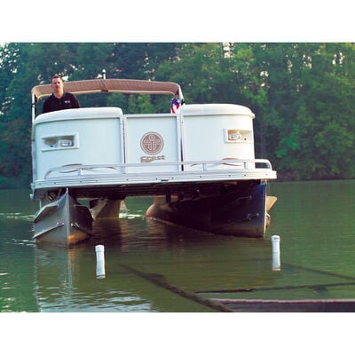 """Smith Pontoon Boat 22"""" Post Guide-Ons, pair"""