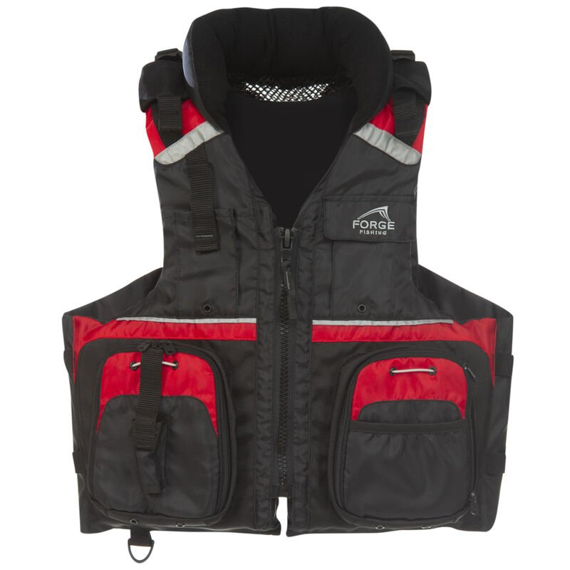 Forge Fishing Deluxe Fishing Vest image number 1