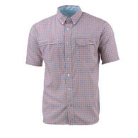 Huk Tide Point Woven Plaid Button-Down Shirt