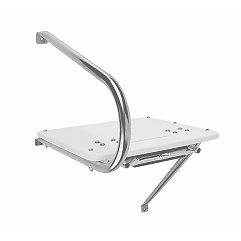 Garelick Outboard Transom Platform with Two-Step Telescoping Ladder image number 2