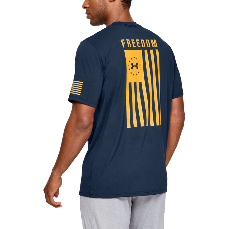 Under Armour Men's Freedom Flag Graphic Tee image number 4