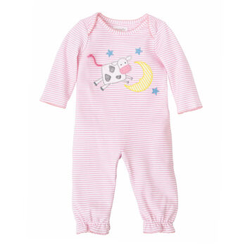 Mud Pie Girls' Cow Convertible Gown