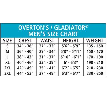 Overton's Men's Pro ComfoStretch Spring Shorty Wetsuit