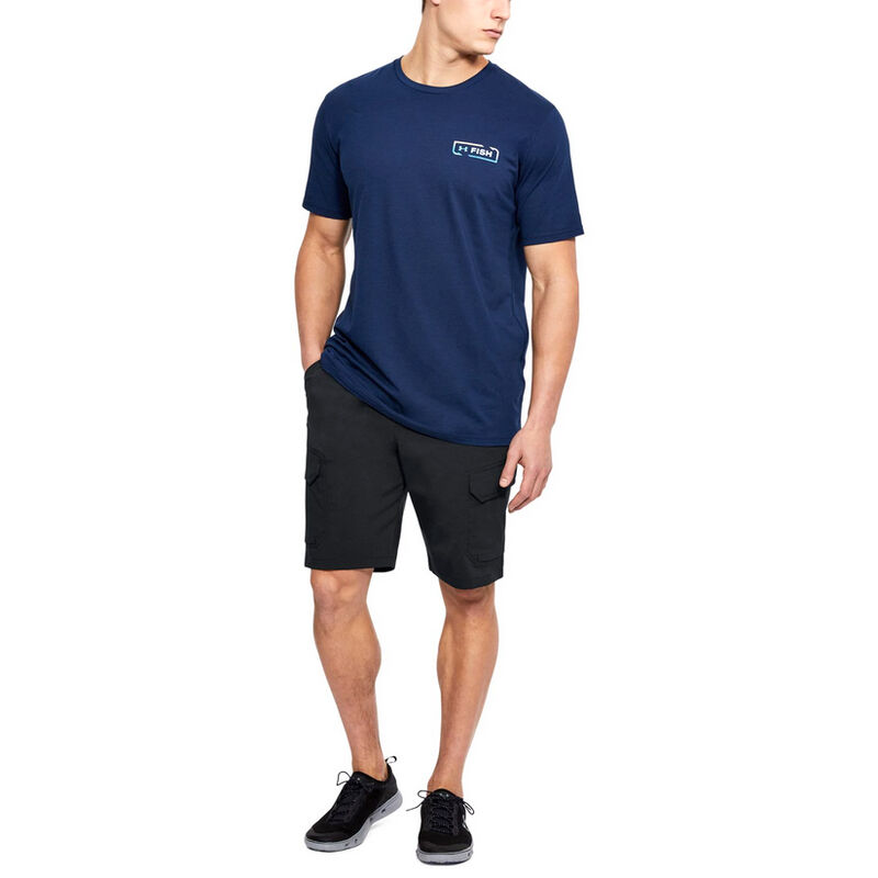 Under Armour Men's Fish Hunter Cargo Shorts image number 3