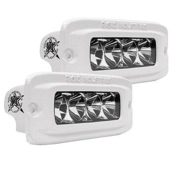 Rigid Industries MSR-QF Flush-Mount LED Floodlights, Pair