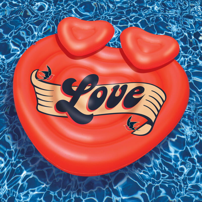 Swimline Lover's Island Double Float image number 1