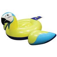 Margaritaville Parrot Head Pool Float With Bluetooth Speaker