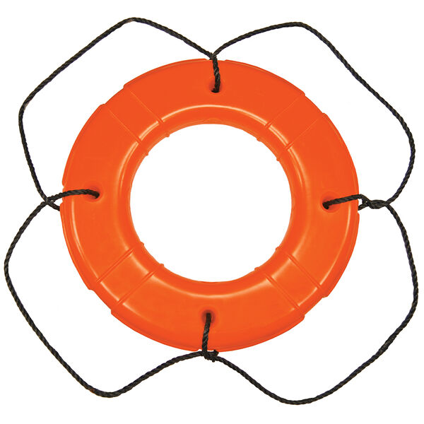 "Life Ring USCG Approved, Orange (30"")"