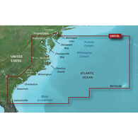 Garmin BlueChart g2 Vision HD Cartography, Mid-Atlantic