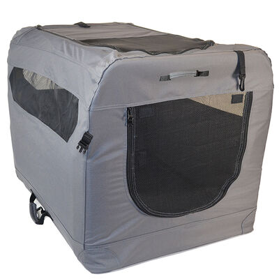 Soft Sided Portable Dog Crate, Medium