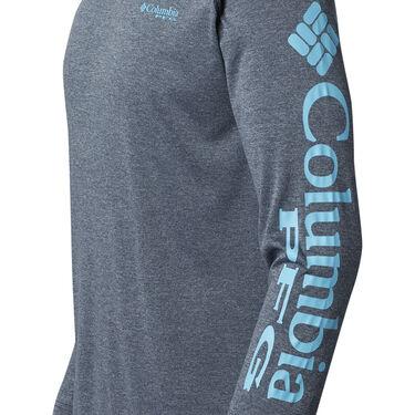 Columbia Men's PFG Terminal Tackle Heather Long-Sleeve Tee