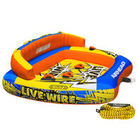 Airhead Live Wire 3-Person Towable Tube Package With Rope