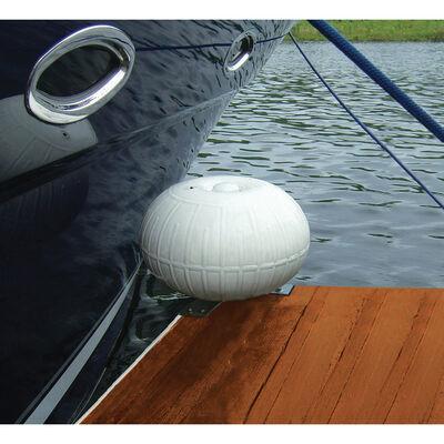 """Dockmate Corner-Mount Inflatable 9"""" Dia. Dock Wheel"""