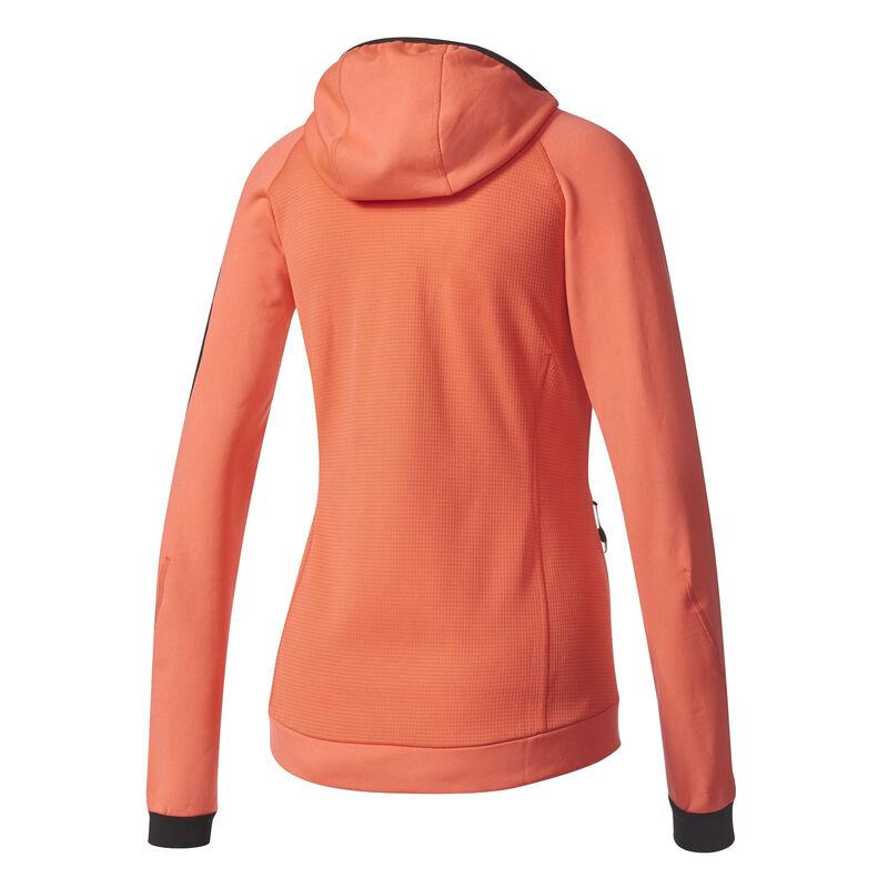 Adidas Women's Terrex Stockhorn Fleece Full-Zip Hoodie image number 13