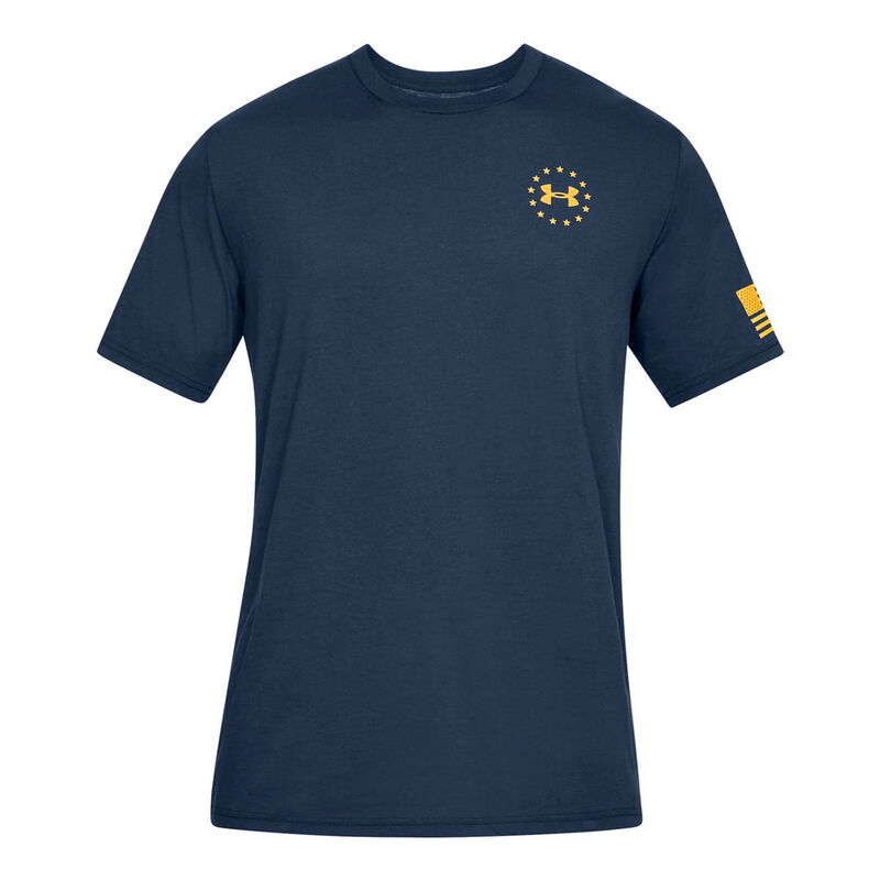 Under Armour Men's Freedom Flag Graphic Tee image number 1