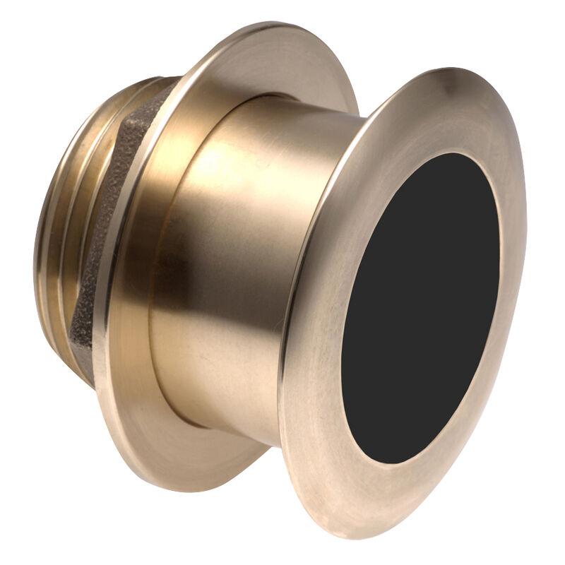Raymarine B164 Low-Profile Thru-Hull Depth/Temp Transducer - 0° Tilted Element image number 1