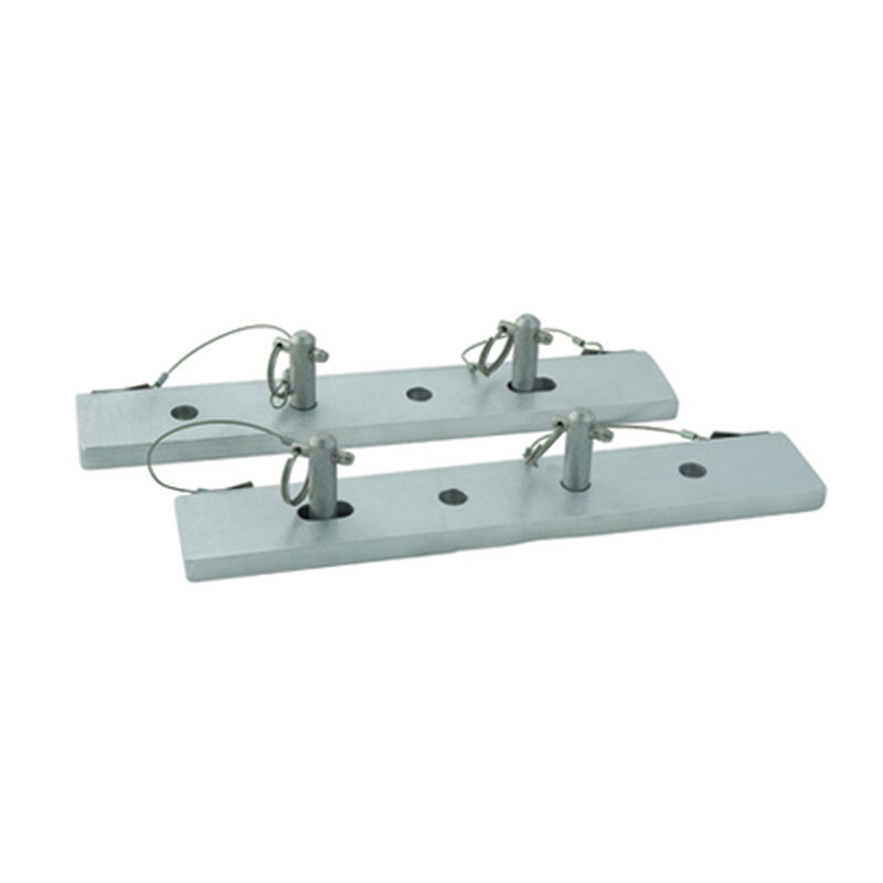 Dockmate Dock Ladder Quick-Release Mounting Plates (pair) image number 1