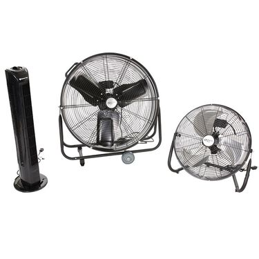 "18"" Metal High Velocity Floor Fan"
