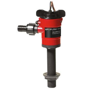 Johnson Pump Cartridge Aerator Pump, 750 GPH / Straight Fitting