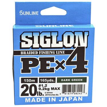 Sunline Siglon PEx4 Braided Line, green