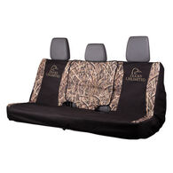 Ducks Unlimited Full-Size Bench Seat Cover, Mossy Oak Shadow Grass Blades Camo