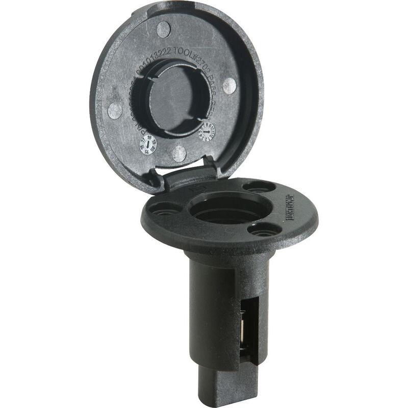 Attwood LightArmor Round Black Composite Plug-In Base image number 2