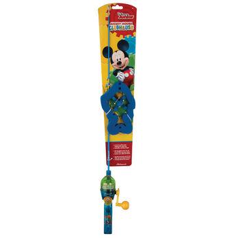 Shakespeare Disney Mickey Backpack Kit with Telescopic Rod