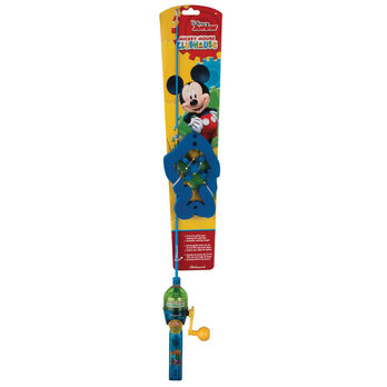 Shakespeare Disney Mickey Backpack Kit with Telescopic Rod