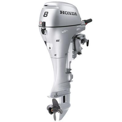 "Honda BF8 Portable Outboard Motor, Manual Start, 8 HP, 15"" Shaft"