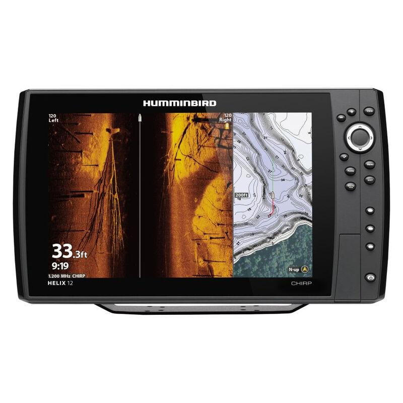 Humminbird Helix 12 CHIRP MEGA SI+ GPS G3N Fishfinder Chartplotter image number 1