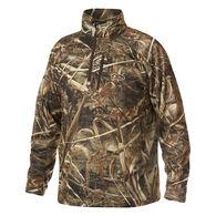 Drake Waterfowl Men's Camo BreatheLite Quarter-Zip Jacket