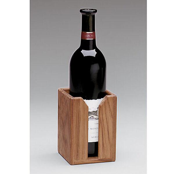 SeaForce Teak Wine Bottle Rack