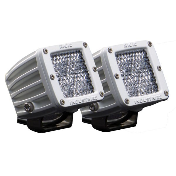 Rigid Industries M-Series Dually D2 Diffused LED Lights, Pair