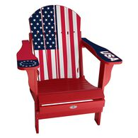 USA Flag Chair, Red