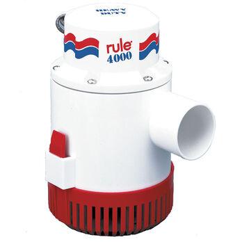 Rule 4000 Non-Automatic 12V Bilge Pump