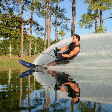 HO Superlite TX Slalom Waterski With Double X-Max Bindings