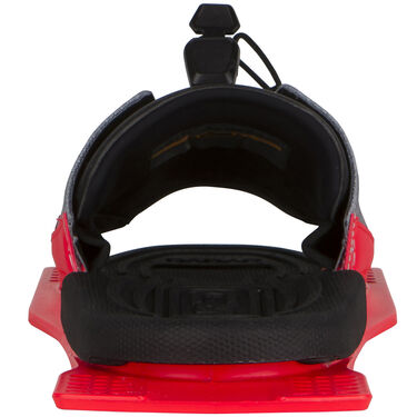 Radar Adjustable Rear Toe Plate With Feather Frame, Electric Coral